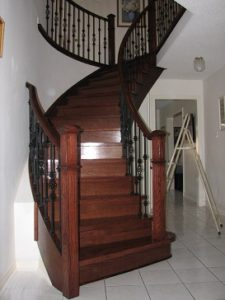 Get Tired Of Your Worn Out, Dirty Stair Carpet? Solution: Change It To Hardwood  Staircase. Hardwood Stair Treads Add Warmth And Texture To Any Staircase  And ...